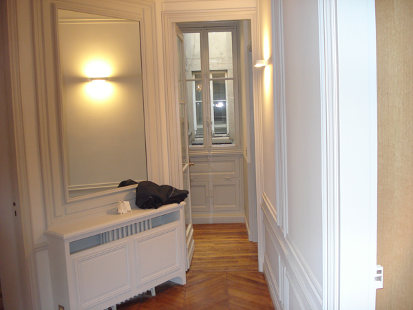 r novation d un appartement parisien cobatech. Black Bedroom Furniture Sets. Home Design Ideas